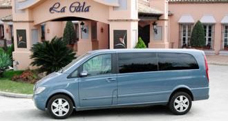 Transfer in a Minivan