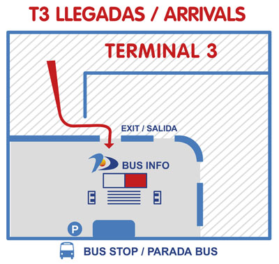 Malaga Airport Buses Take A Bus From Malaga Airport To